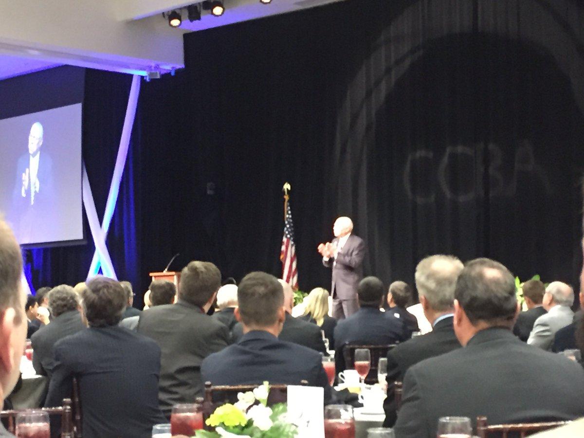 MT @MattMFoster: Sec Colin Powell giving great speech on race relations & bldg better America #CCBALeads #WeArePlano https://t.co/rrHDjxj0sF