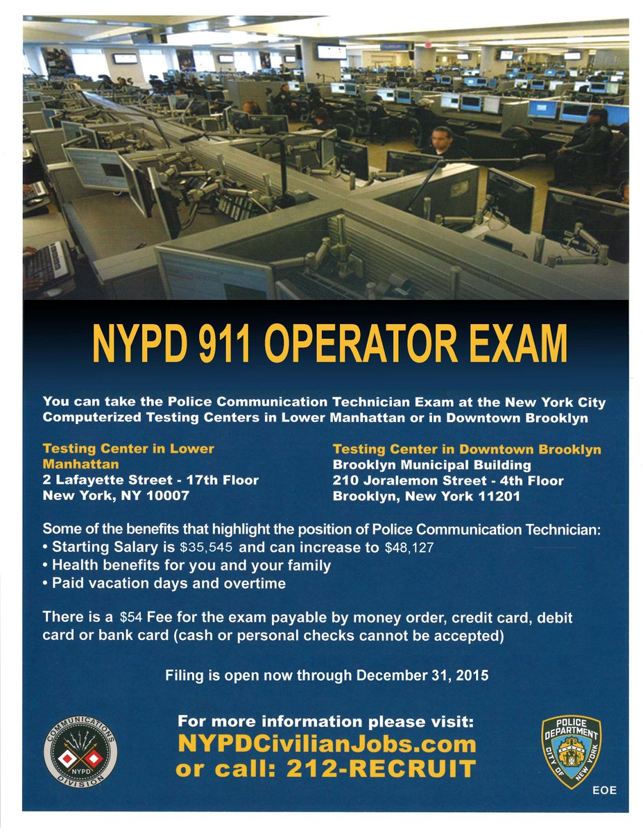 Nypd recruitment on twitter filing for the 911 operator exam is nypd recruitment on twitter filing for the 911 operator exam is open one nypd many ways to serve nycdcas httpstx2rz8jkune thecheapjerseys Image collections