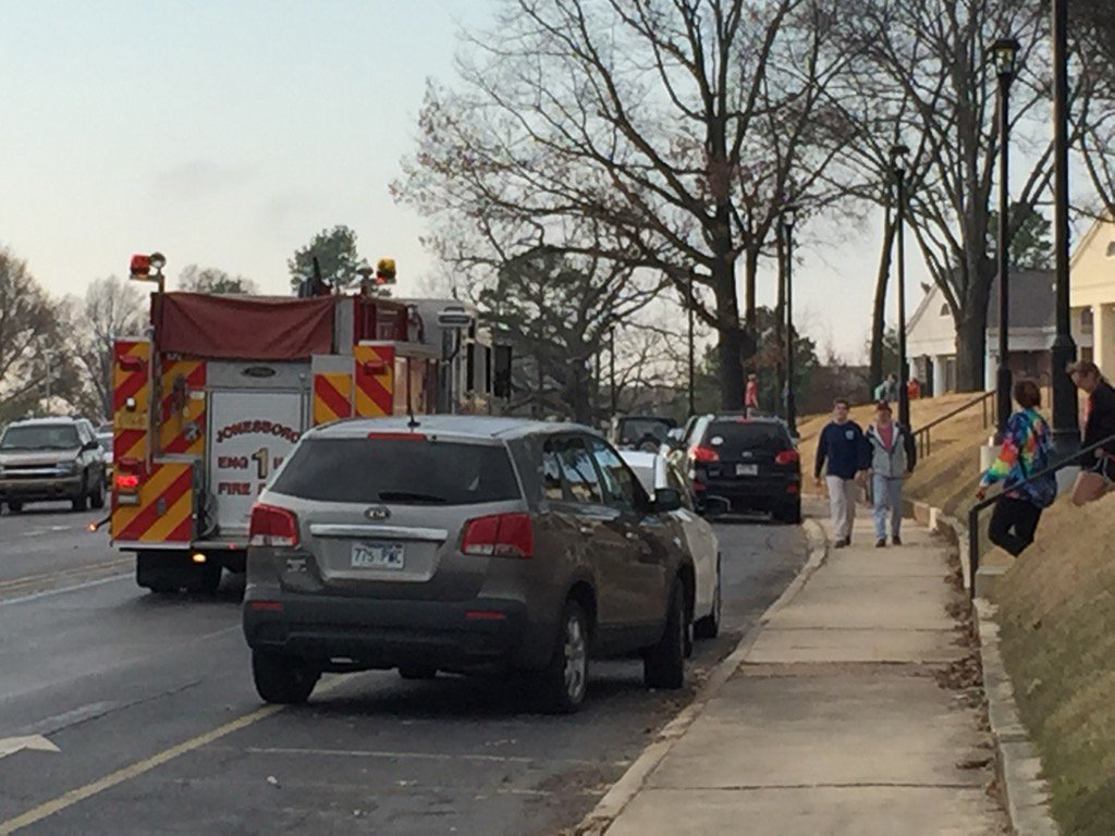 Police, fire and state troopers on scene at @ArkansasState https://t.co/kHKmeIwcvI