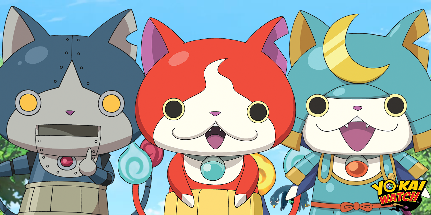 Yo kai watch on twitter jibanyan robonyan shogunyan for Chambre yo kai watch