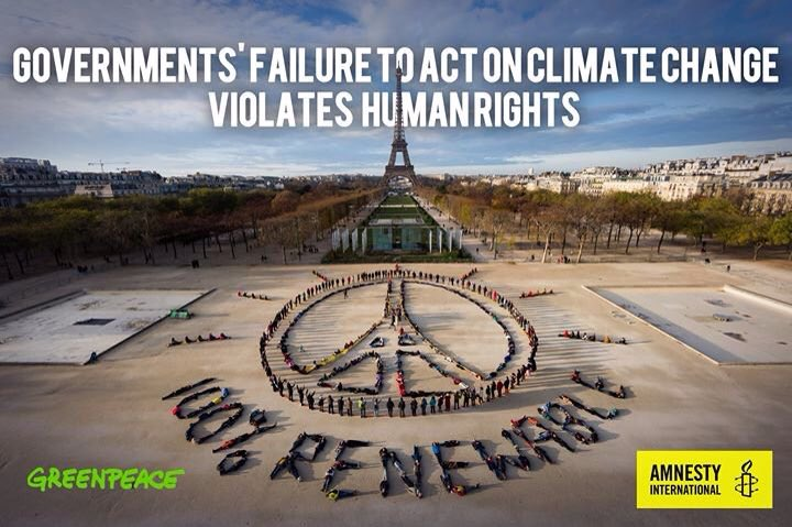 Climate change deprives millions of food, health and housing: essential human rights #COP21 #10Dic https://t.co/DwjfPc3HYP