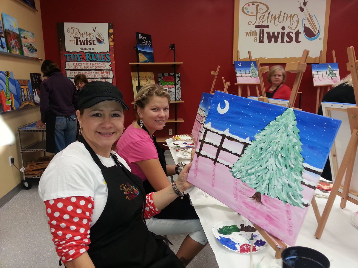 Gracie Bradford On Twitter Abwa Seen Painting With A Twist Lisa