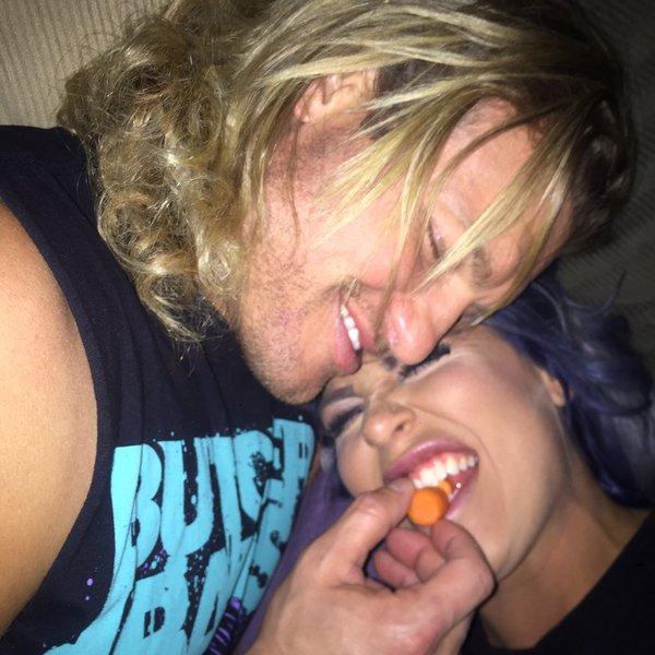 Dolph Ziggler en Dana Brooke dating