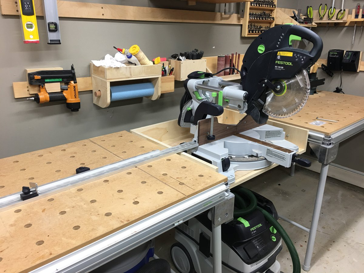 Benjamin Gladd On Twitter Quot Developing A Mitre Saw Station