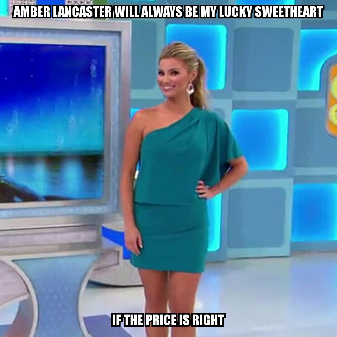 "Amber Lancaster From The Price Is Right ryan blemenschutz on twitter: ""@amberlancaster will always"