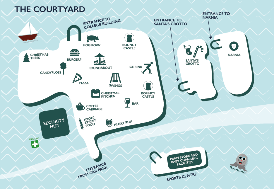 ❄ It's Winter Wonderland tomorrow! Take a sneaky peek at the campus map and see what exciting events are in store ❄ https://t.co/LUq6Ihifs7