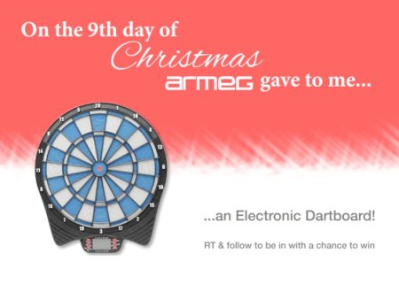 It's a bullseye! Follow & RT for a chance to #win today's special prize on our #12DaysOfChristmas giveaway! https://t.co/oNymnZ1JL4