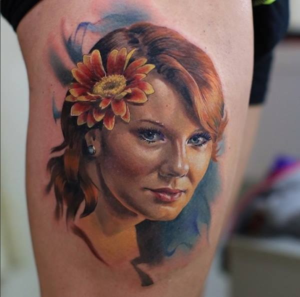 CV7Bu7TWUAAf1TO - Tatuagens realistas da russa Valentina Ryabova