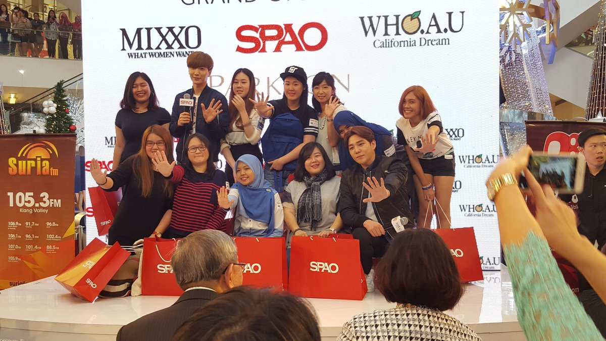 10 lucky fans got special gift bags from SPAO and Kang In and Lee Teuk https://t.co/5JbL5mq8as