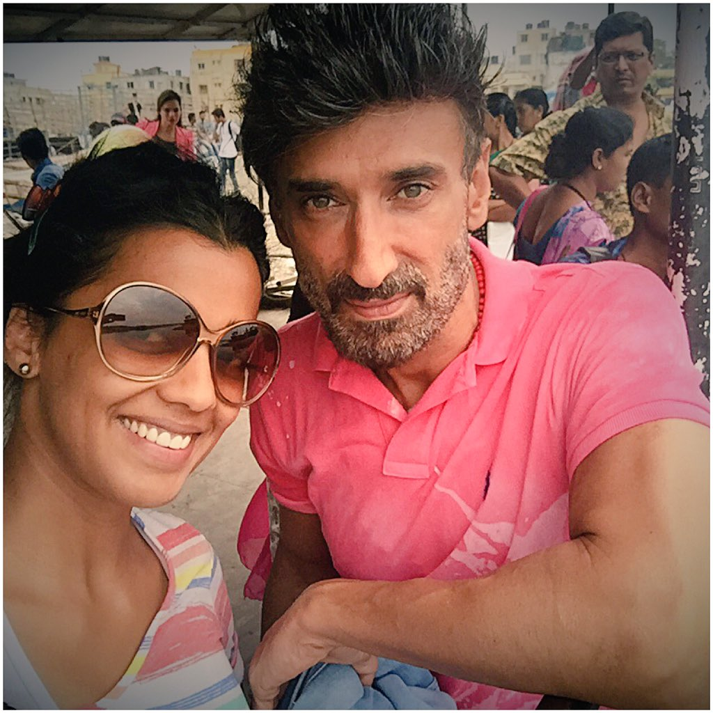 Rahul and Mugdha in Power Couple