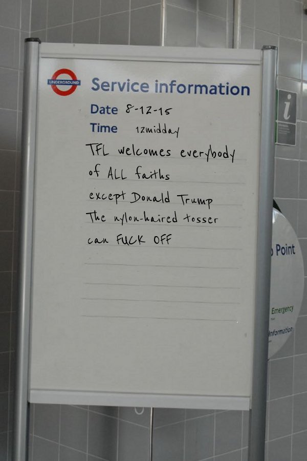 A Christmas message from Transport For London