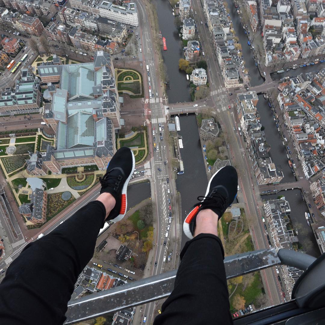 We took the new adidas #nmd for a helicopter ride around our home city, Amsterdam. #adidas #freshcotton https://t.co/GkwjNUdAOZ