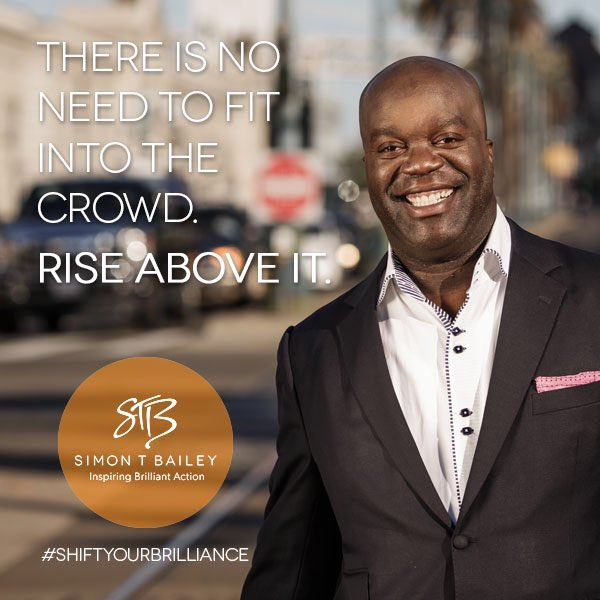 @Boity Remember there is no need to fit into the crowd. Rise above it. #ShiftYourBrilliance https://t.co/zpu9yHtRyH