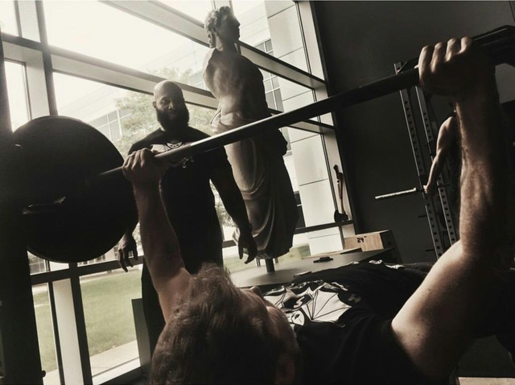 "C.T. Fletcher on Twitter: ""THIS IS ME TRAINING ZACK SNYDER ..."