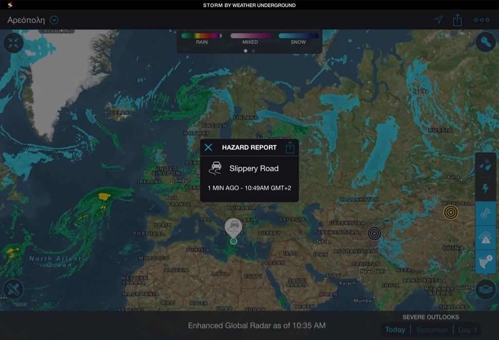 On Twitter Enhanced Global Weather Radar Data From Storm By - Global weather radar