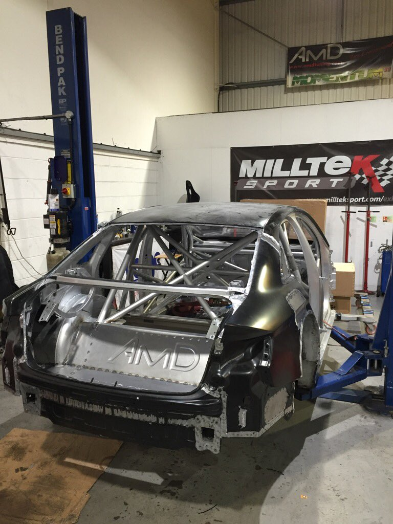 Audi S3 BTCC shell back from @WPMS Great job guys! Repaint/rebuild by @autosport show. New driver and colour scheme! https://t.co/mAzuygk3GU