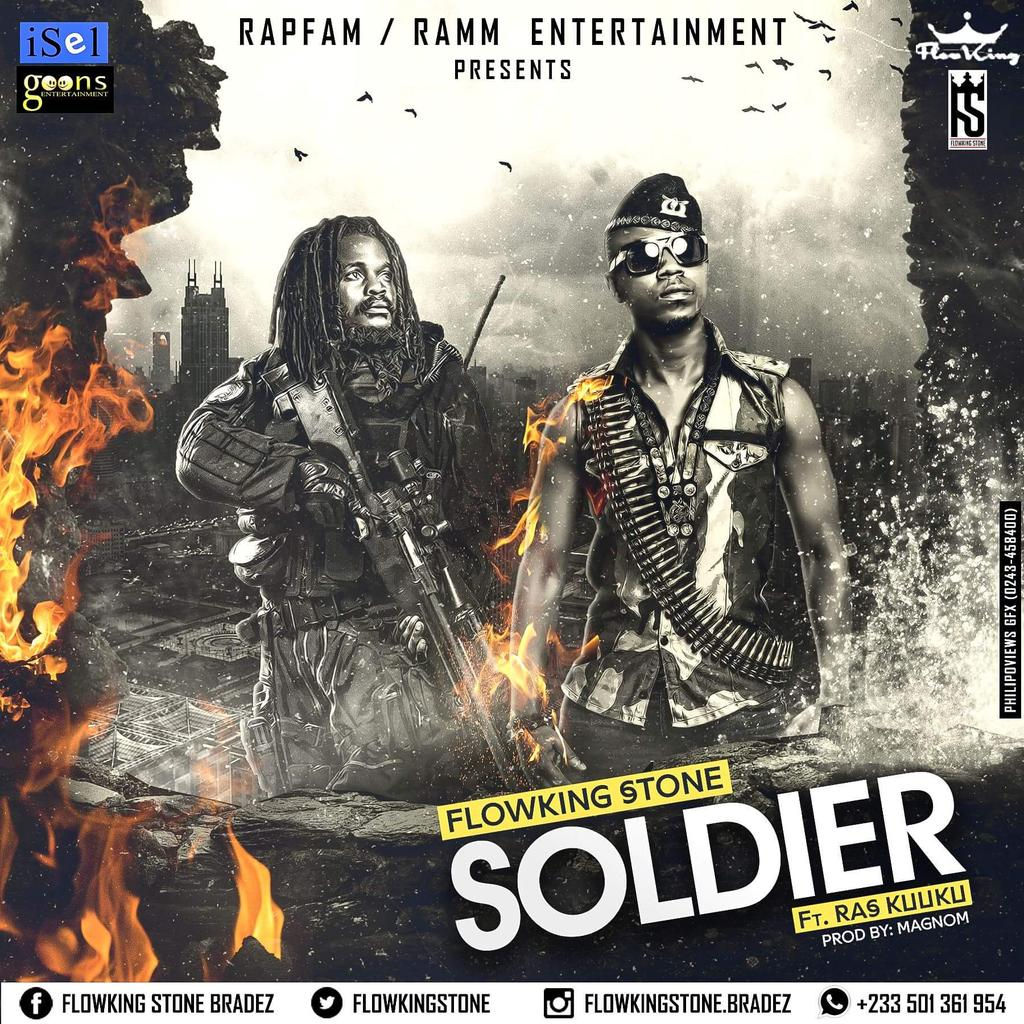 #soldier @FlowkingStone ft. @RasKuuku prod.by @MagnomBeats dropping today. https://t.co/B1BqB1NzOF