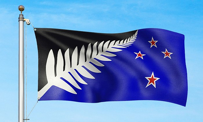 Nuova bandiera scelta in Nuova Zelanda