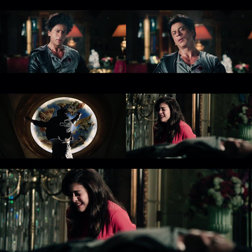 She ( @KajolAtUN ) Thought This Is The End Of Their ( @iamsrk ) Love Story..... #MindblowingDilwalePromo https://t.co/tDlQ6zSHrT