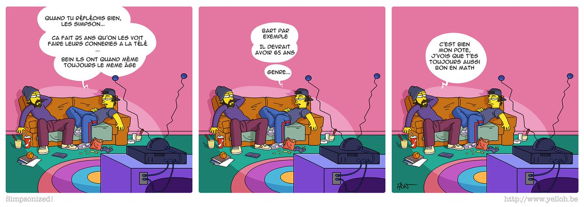 Le Mashup couch gag Simpsons + @Bloques …