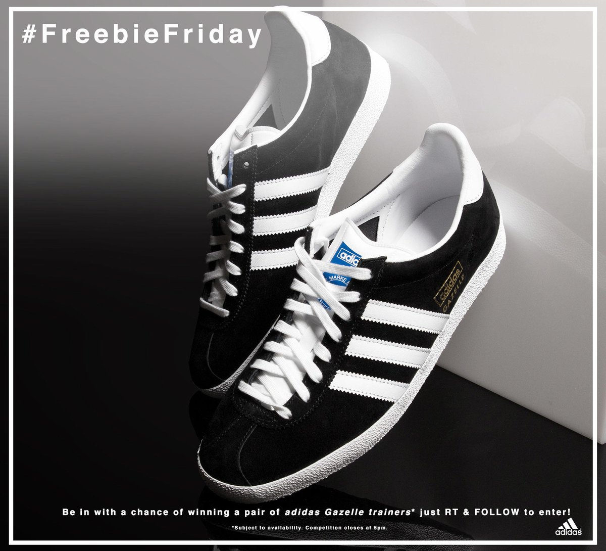 win a pair of adidas gazelle sneakers