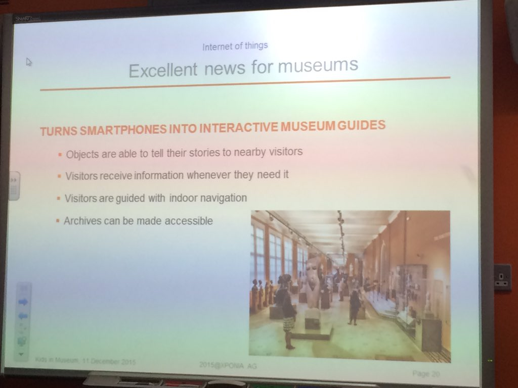 #digitalfamilies @karlheinzkoch of Xponia celebrating the possibilities of visitor mobile devices in museums https://t.co/u6xau2cZO3