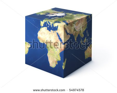 world cube image