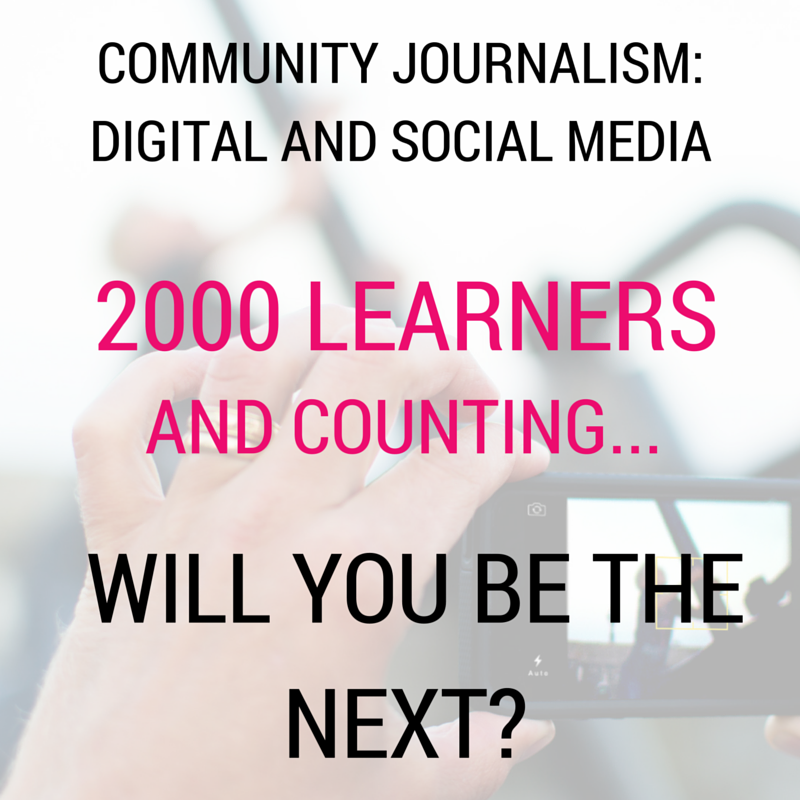 Join learners worldwide to study community journalism.  Starts 8 Feb, sign up today: https://t.co/8VZwrvZzEv #FLCJ https://t.co/hohwPfNppy