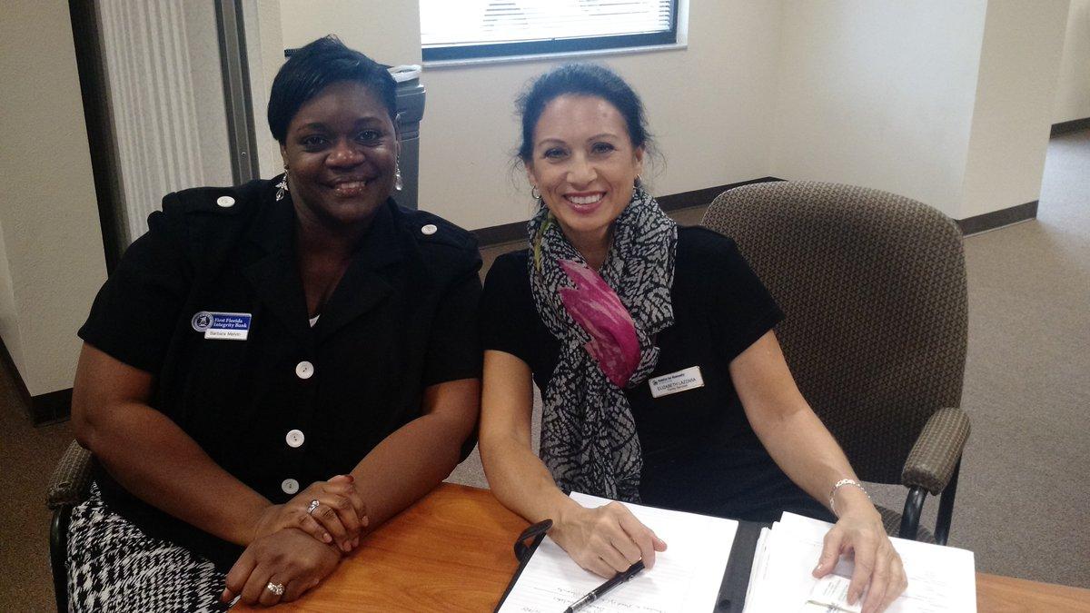 At Immokalee Interagency Council Barbara Melvin VP of @naacp5117 + @FFIBANK & Elizabeth Lazzara @Habitat_Collier https://t.co/X9XeJT1YGY