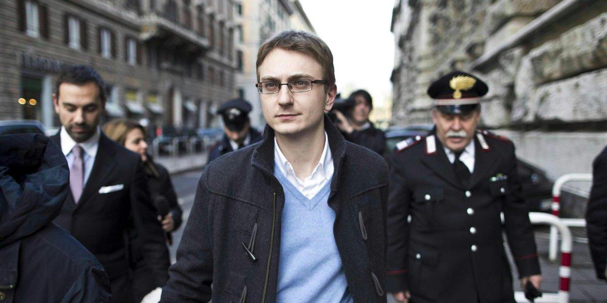 Alberto Stasi condannato per l'omicidio di Chiara Poggi nel 2007.