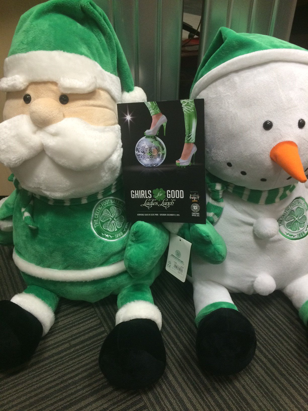 RT @FoundationCFC: We're ready for you Ghirls! Can't wait to see you all at 11.30am tomorrow. Party!!!! #ghirlsforgood https://t.co/6zCTf1G…