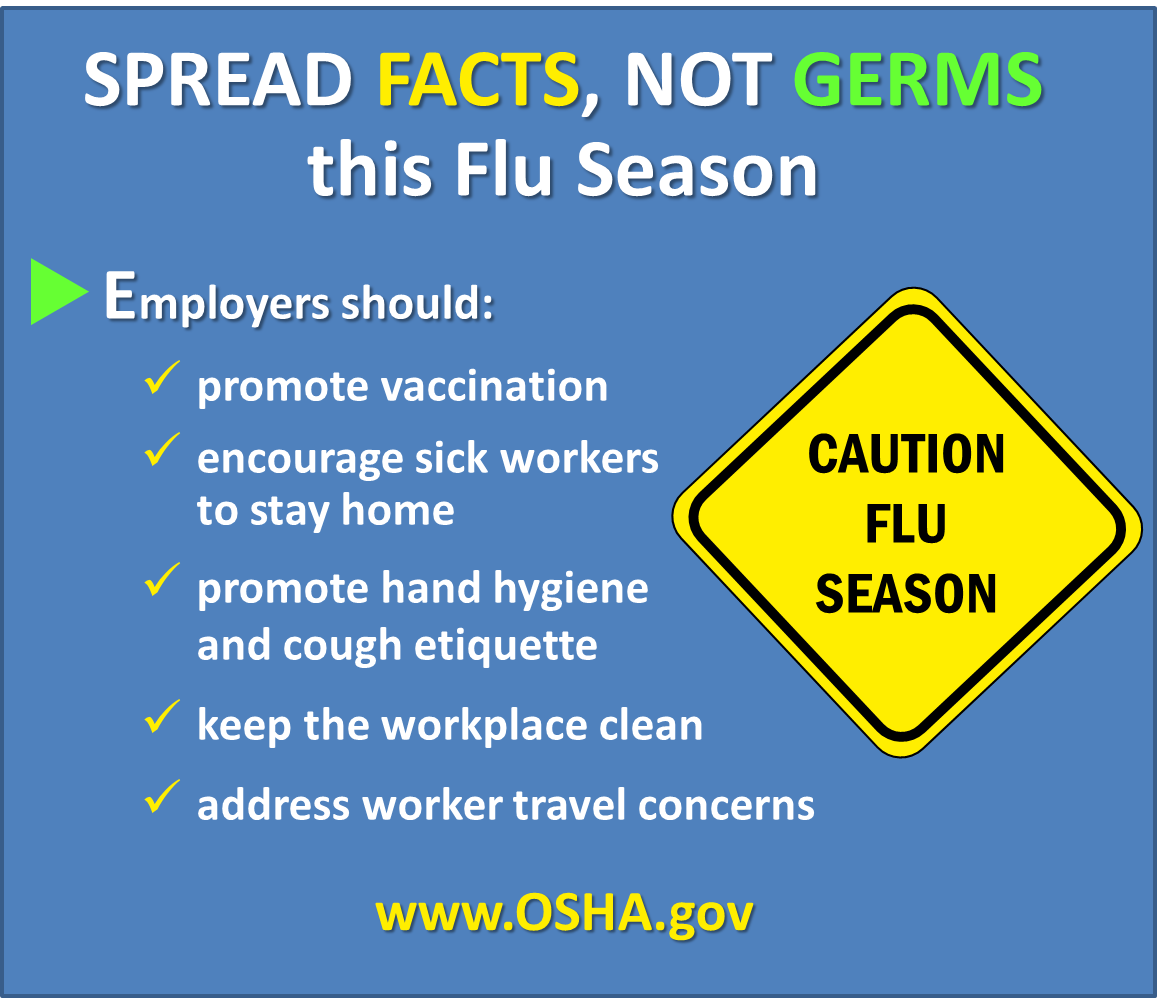 """US Labor Department On Twitter: """"Spread Facts, NOT Germs"""