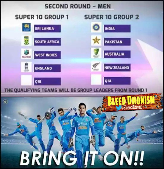 The ICC World T20 2016 schedule has been announced! BRING It On! # ...