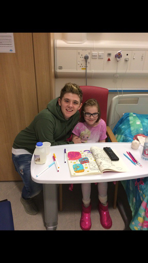 RT @CaitlinCav1: So nice of @nickymcdonald1 putting a smile on my wee cousins face❤️❤️❤️ https://t.co/1G6gOf1bI8