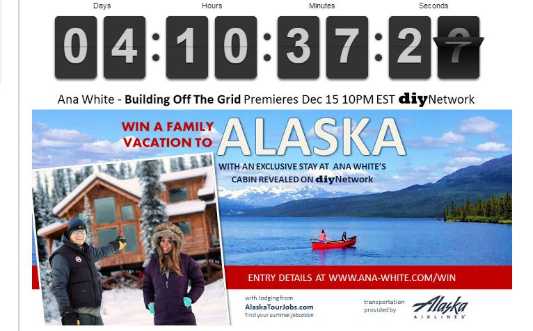 Just 4 days left to enter our Alaska Vacation Giveaway!  Retweet and validate here https://t.co/2EzdQ1Wv5a https://t.co/xnqweeqvzn