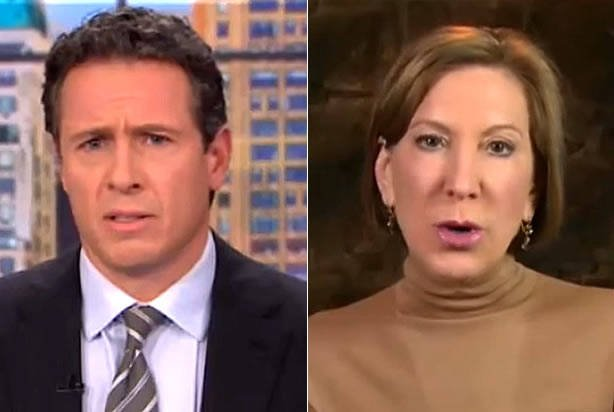Chris Cuomo blames Carly Fiorina for Colorado PP shooting VIDEO