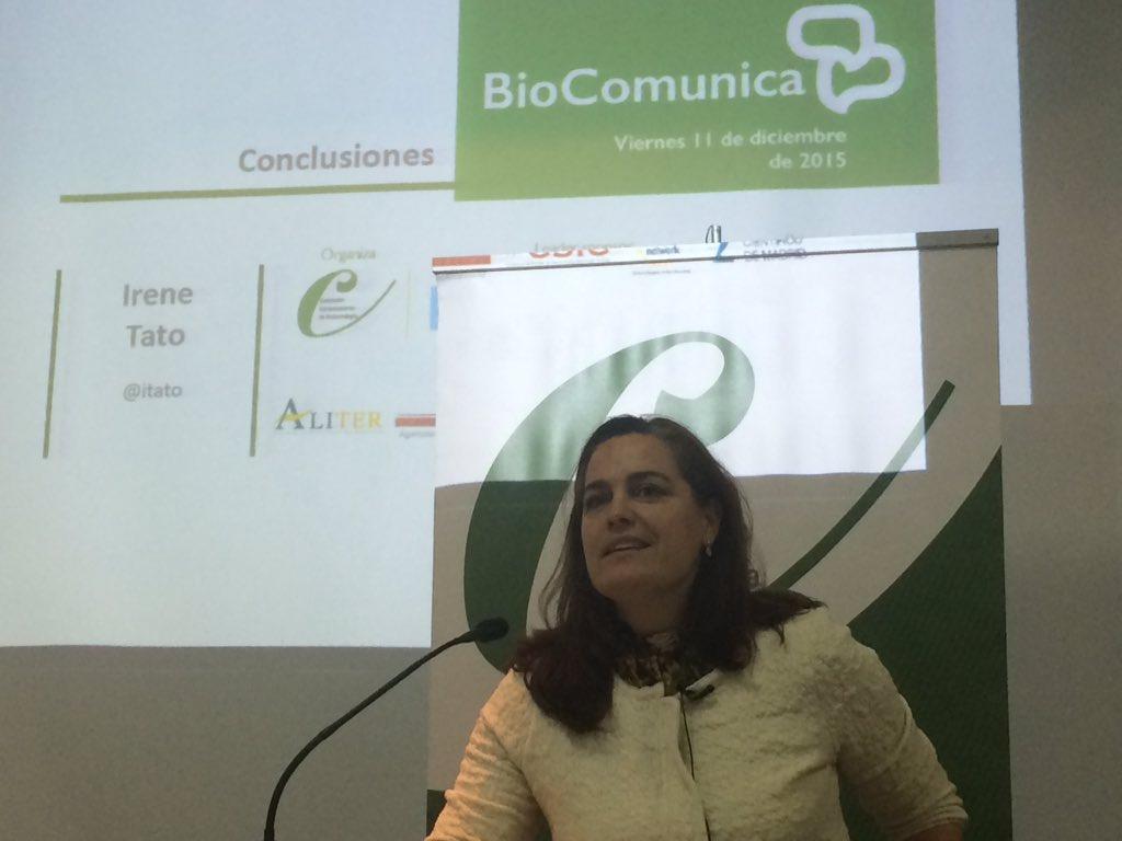 @itato Secretaria de @ACBiotecnologia cierra la Jornada #biocomunica15 que deja el listón alto para la siguiente https://t.co/c8OXNsD7aQ