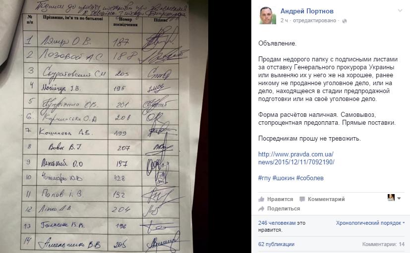 """Мартыненко: """"Я готов к любым расследованиям и окажу полное содействие"""" - Цензор.НЕТ 2541"""