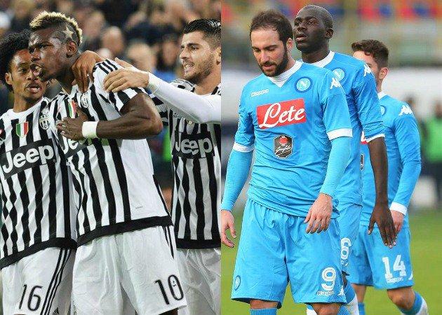 Calcio Serie A: Juventus-Napoli del 13/2 è una sfida scudetto