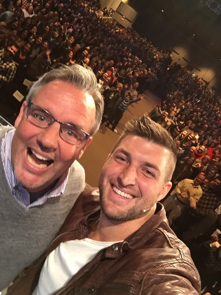 Thx @TimTebow for giving a great word today @newlifechurchtv' https://t.co/WQ16EGh4Ql