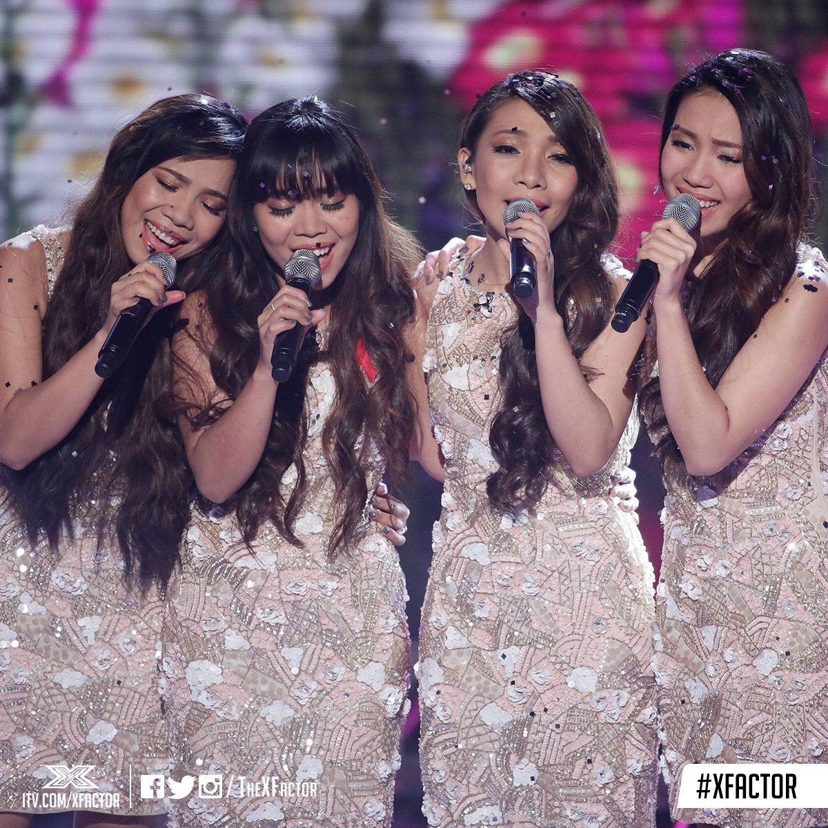 Facing the sing-off... @4thImpactMusic and @LaurenMurray 😱 #XFactor https://t.co/YGIE9pAbHL