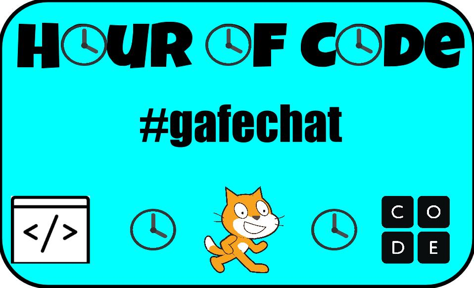 The #gafechat discussion will center around Hour of Code and be referred as HOC in all of the questions. https://t.co/ChQRyIK1IY