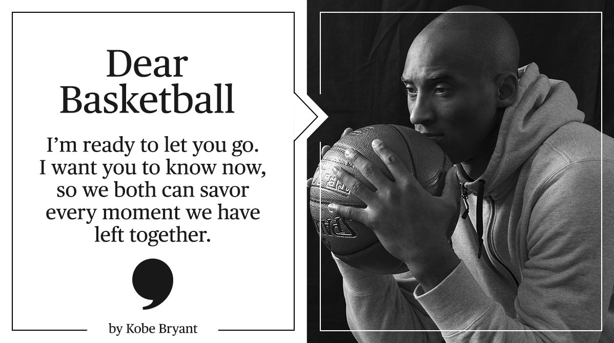 Kobe Bryant宣佈將會季尾後退役