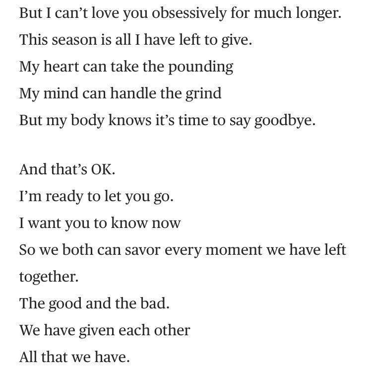 Web Smith On Twitter Kobe Just Retired Via Poem He Wrote A Love