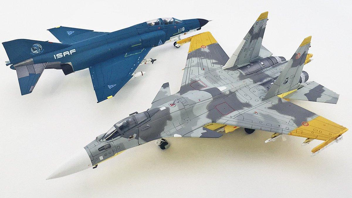 トミーテックさんより技MIXの最新作F-4Eメビウス1とSu-37黄色13がリリースされました。色の再現とか凄ッ! ハセガワさんの協力もあり、モデラーとしては史上最高の1/144Su-37の登場に大歓喜ですね。[kanno] pic.twitter.com/q7oPnZTT4A