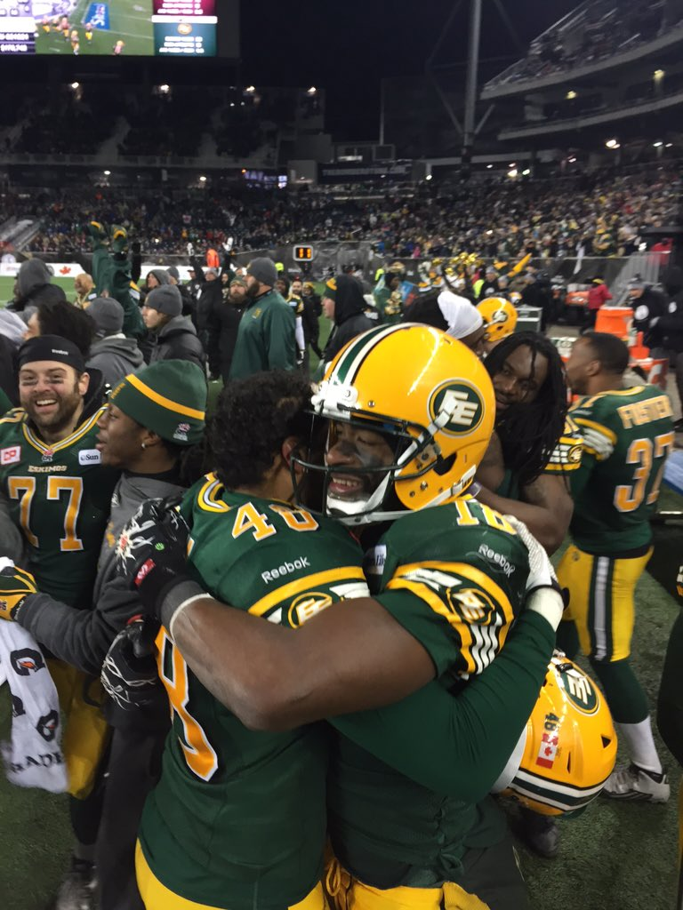 The #Esks are your 103rd #GreyCup CHAMPIONS! #YouIn? Mission accomplished