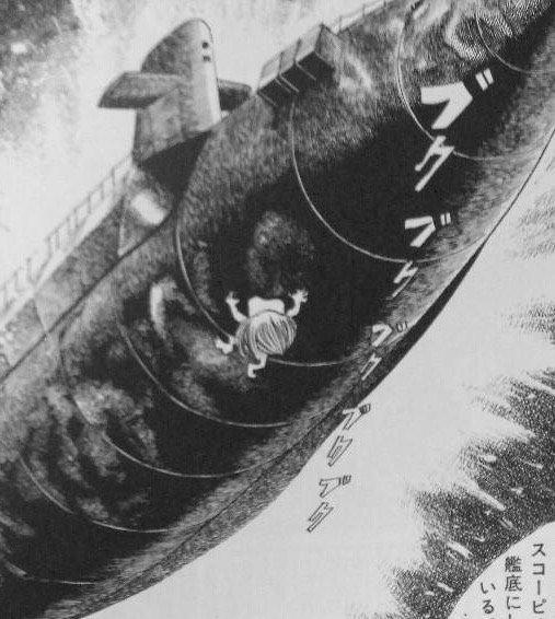 原子力潜水艦を沈める子泣きじじい。 https://t.co/X7PjdBTRER
