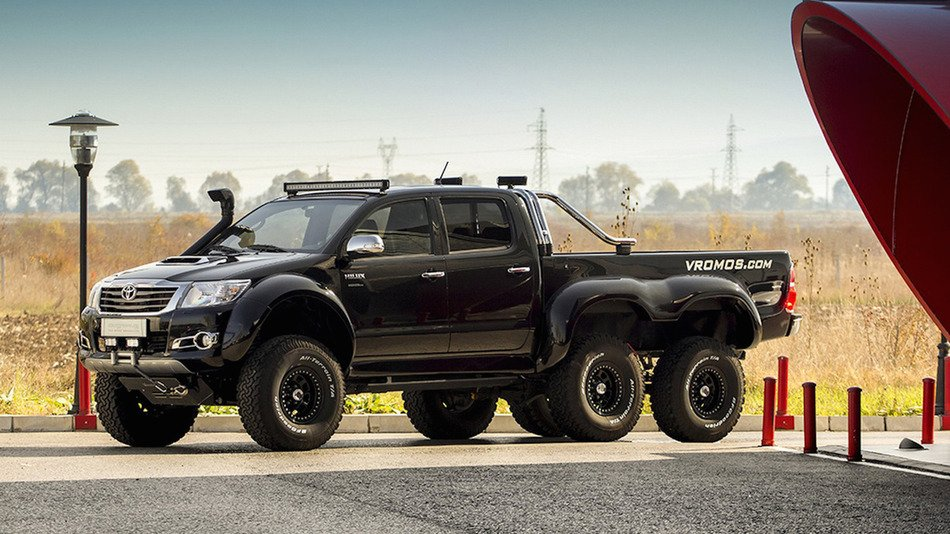 RT @mashable: This Bulgarian Toyota Hilux 6x6 is rugged on the outside, plush on the inside https://t.co/S0tDtmQ2LO https://t.co/gyEnJGXjob