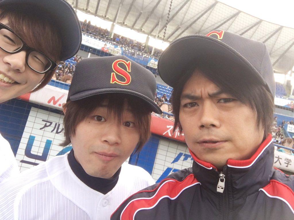 浪川さん、よしつぐさんと! pic.twitter.com/9TWPK99TmK