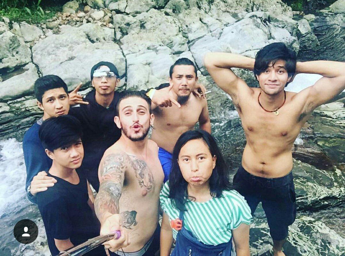 """Shirtless Edit Id On Twitter: """"Ammar Zoni And Friends"""
